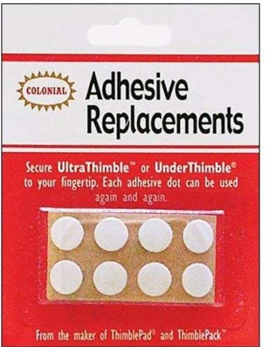 Colonial Ultra//Under Thimble Adhesive Replacements