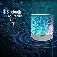 Portable Bluetooth Mini Speaker With FM Radio USB SD Card Reader Altavoces Bocinas