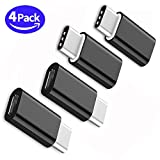 Type C Adapter, Micro USB to USB C Adapter, GPROVA USB C to Micro USB Adapter Universal for MacBook, ChromeBook Pixel, Nexus 5X,Nexus 6P,Nokia N1 and Other Type C cable Supported Devices (Black 4)