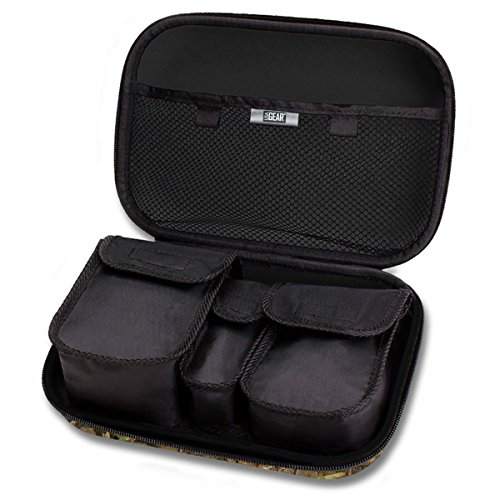 USA Gear Vape & Accessory Carrying Case Premium E-Cigarette Vape Mod Travel Pen Large Organizer - Works with blu, Innokin, Janty, Halo Cigs, 777 E-Cigs and More Electronic Cigarettes by USA Gear (Image #6)