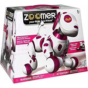 Amazon.com: Zoomer Zoomie Robot Dog: Toys & Games