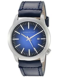 Momentum Men's 1M-SP10U2U LOGIC SS Analog Display Japanese Quartz Blue Watch