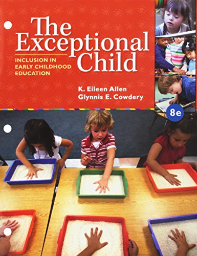 Bundle: The Exceptional Child: Inclusion in Early Childhood Education, Loose-leaf Version, 8th + LMS Integrated MindTap Education, 1 term (6 months) Printed Access Card