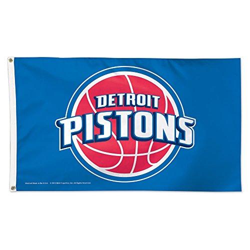 NBA Detroit Pistons Flag Deluxe, 3 x 5-Foot
