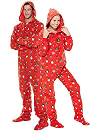Family Matching Holly Jolly Christmas Hoodie One Piece
