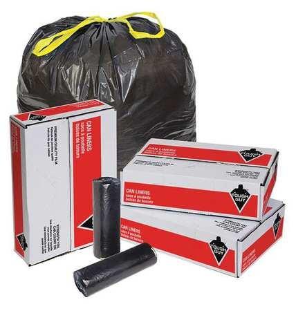 Drawstring Trash Can Liner, 55 gal, PK100