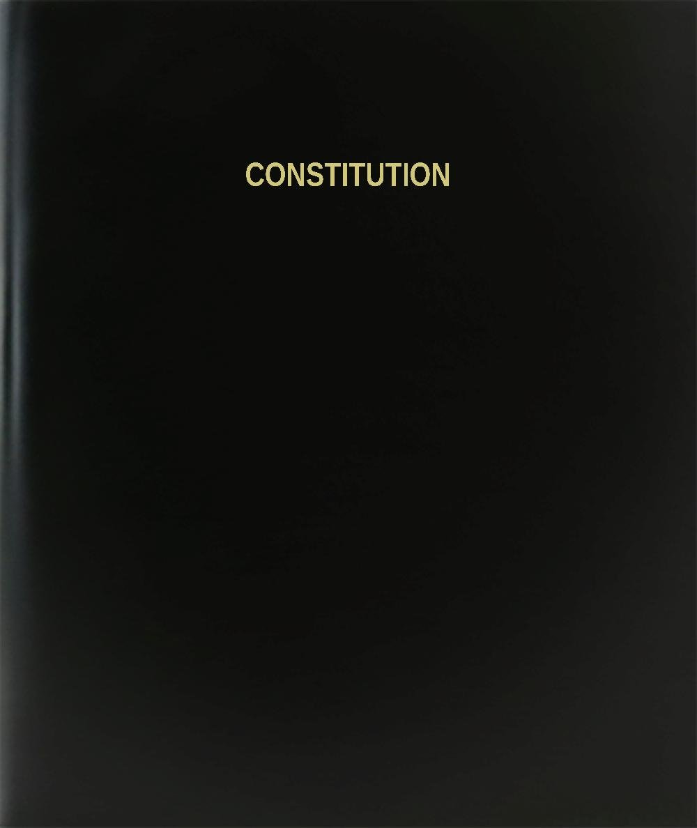 BookFactory ®憲法/日記/ログブック – 120ページ、8.5
