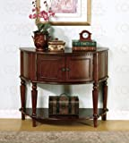 Cheap Coaster Storage Entry Way Console Table/Hall Table, Brown Finish