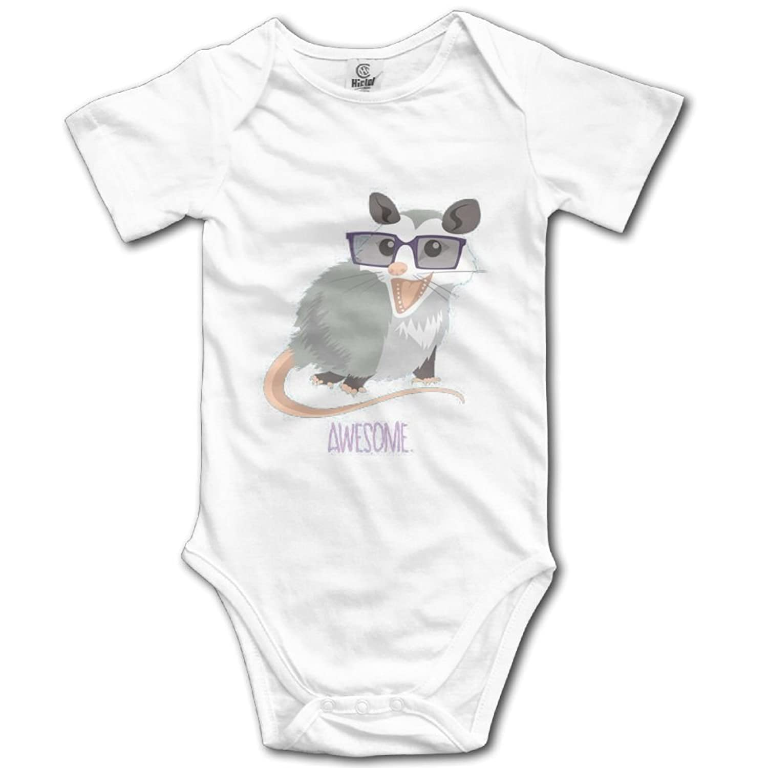 18703685d4e Rainbowhug awesome opossum unisex baby onesie cartoon newborn clothes  concise baby outfits comfortable baby clothes jpg