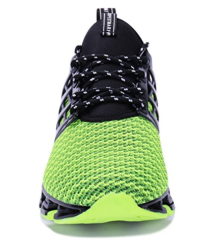 Casual Blade Mesh Shoe Sport Shoes Mens VOEN Breathable green 2 Walking Outdoor Sneakers Fashion wfxfaq