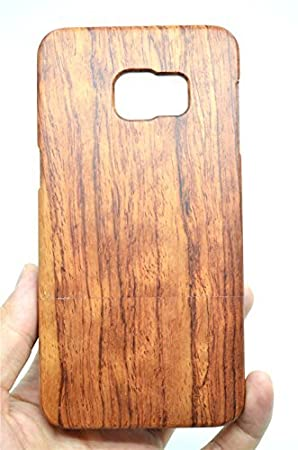 brand new afc8f d8546 RoseFlower® Samsung Galaxy S6 Edge Plus (S6 Edge+) Wooden Case - Rosewood -  Natural Handmade Bamboo / Wood Cover with Free Screen Protector for your ...