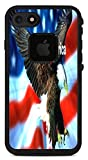 I Love America Quote USA Flag with Eagle Design Print Image Lifeproof Fre iPhone 7 VINYL STICKER DECAL WRAP SKIN