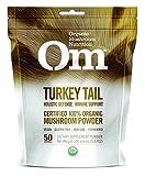 Om Organic Mushroom Nutrition Supplement,Turkey Tail: Holistic Defense, Immune Support, 50 servings, 3.57oz, 100 grams For Sale