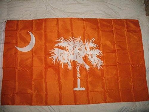 Flag Clemson Orange Carolina South Carolina State 3X5 Super Poly Indoor/Outdoor