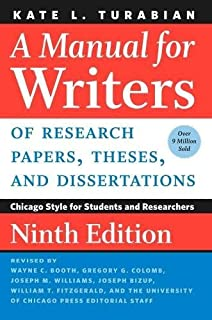 amazon com a manual for writers of research papers theses and rh amazon com Turabian Header Turabian Style