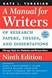 img - for A Manual for Writers of Research Papers, Theses, and Dissertations, Ninth Edition: Chicago Style for Students and Researchers (Chicago Guides to Writing, Editing, and Publishing) book / textbook / text book