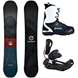 snowboard package - Package-Camp Seven Redwood Snowboard 158 cm Wide-System MTN Binding large-System APX Boot 11