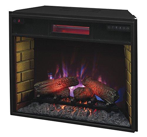 Electric Fireplace Insert Menards: Space Heater ClassicFlame 28II300GRA Infrared Quartz