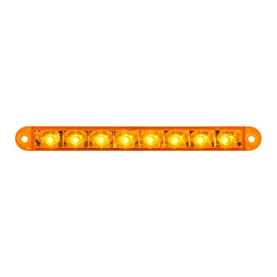 "GG Grand General 74760 Light Bar (6-1/2"" Pearl Amber 8LED, 3 Wires): Automotive"