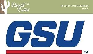 Georgia State University GSU Panthers NCAA Design Sticker Vinyl Decal Laptop Water Bottle Car Scrapbook (Sticker - 4)