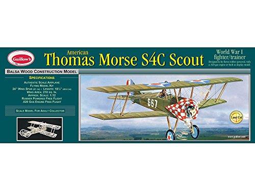 Guillow's Thomas Morse Scout Laser Cut Model Kit