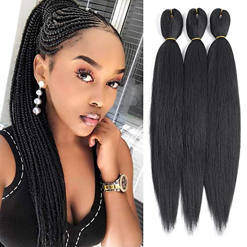 Befunny 8Pieces/Lot 24Inch Pre-Stretched Braiding Hair for sale  Delivered anywhere in USA