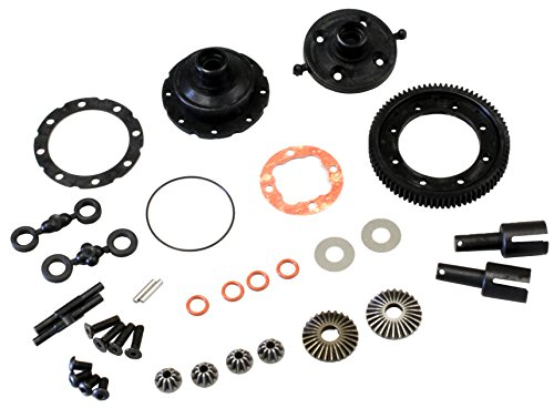 [Hobby Rc Kyosho Kyola375 Center Differential Gear Set Zx6.6 Replacement Parts] (Kyosho Center Differential)