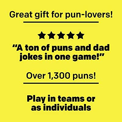 Pun Intended - It's All Pun and Games - Perfect Game for Pun Lovers: Toys & Games