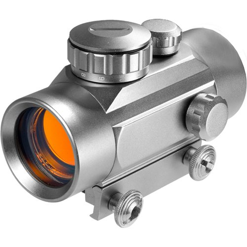 Barska Optics 30mm Red Dot Silver, 5/8″