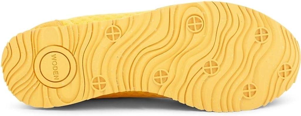 Woden Sneakers Ydun Suede Mesh 607 Super Lemon