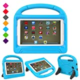 Case for Samsung Galaxy Tab E Lite 7.0 inch- Dinines Kids Case Light Weight Shockproof Protective Cover Handle Stand Case for Samung SM-T113 / Tab 3 Lite 7.0 SM-T110 / SM-T111 7-Inch Tablet (Blue)