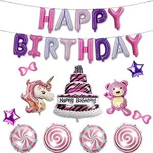 حفلة عيد ميلاد الأطفال الديكور المشهد تخطيط الألومنيوم احباط الالومنيوم بالون مجموعة