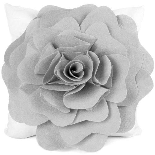 Flower Decorative Pillow - kilofly Home Decorative Throw Pillow Cover, 18