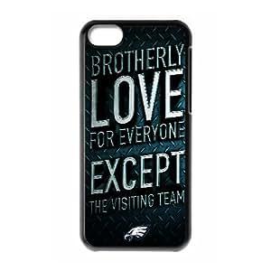 Sexyass Philadelphia Phillies IPhone 5C Cases the Philadelphia Eagles, [Black]