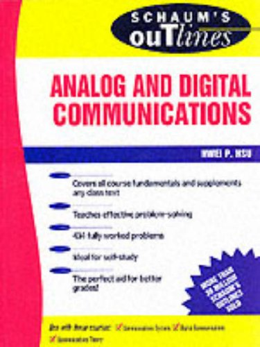 Schaum's Outline of Analog and Digital Communication