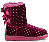 UGG Kid's Bailey Bow Starlight Boot (8 Toddler M, Lonely hearts)