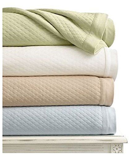Martha Stewart Collection Quilted Triple Knit Full/Queen Blanket
