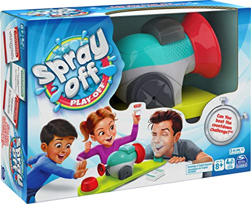 Spray Off Play Off, Water Splashing Game, for Families and Kids Ages 8 and up