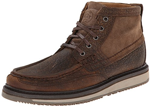 - Ariat Men's Lookout Western Chukka Boot, Earth/Stone Suede, 12 M US