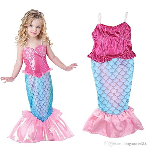ariel the little mermaid blue dress - 5