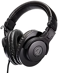 audio technica ath m30x professional studio monitor headphones musical instruments. Black Bedroom Furniture Sets. Home Design Ideas