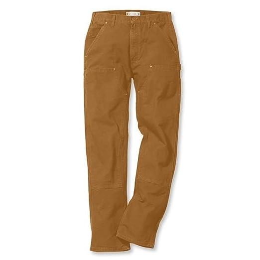5 opinioni per Carhartt Dungaree EB136- Pantaloni da lavoro, effetto slavato, EB136