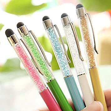 Touch Screen Pen 2in1 Writing Stylus Touch Screen Pen For iPhone Tablet Trendy
