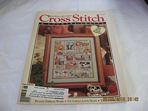 Cross Stitch & Country Crafts, May/June 1993 (Volume VIII, Number 5) (Cross Country Garden Stitch)