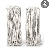 O-Cedar Heavy Duty Looped-End String Mop Refills 2 Pack