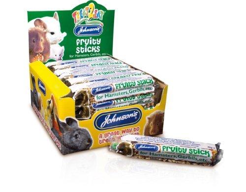 Johnsons Fruity Sticks for Hamsters, Gerbils etc. x 3 Bars