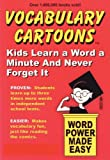 vocabulary for kids - Vocabulary Cartoons: Kids Learn a Word a Minute and Never Forget It.