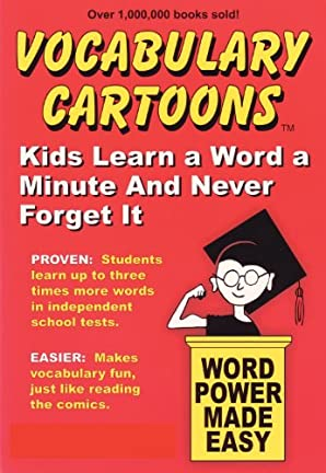 Vocabulary Cartoons: Kids Learn a Word a Minute and Never Forget It. (English Edition)