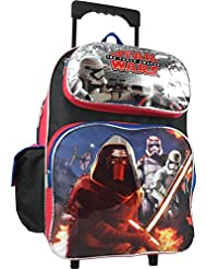 Disney Star Wars the Force Awakens Large 16' Rolling Backpack