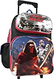 "Disney Star Wars the Force Awakens Large 16"" Rolling Backpack"